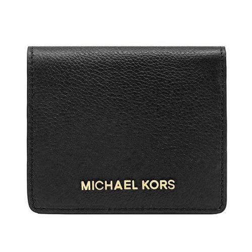 c93cff81ab7ddb NEW ARRIVAL Michael Kors Jet Set Travel Pebble Leather Carryall Card Case  Wallet