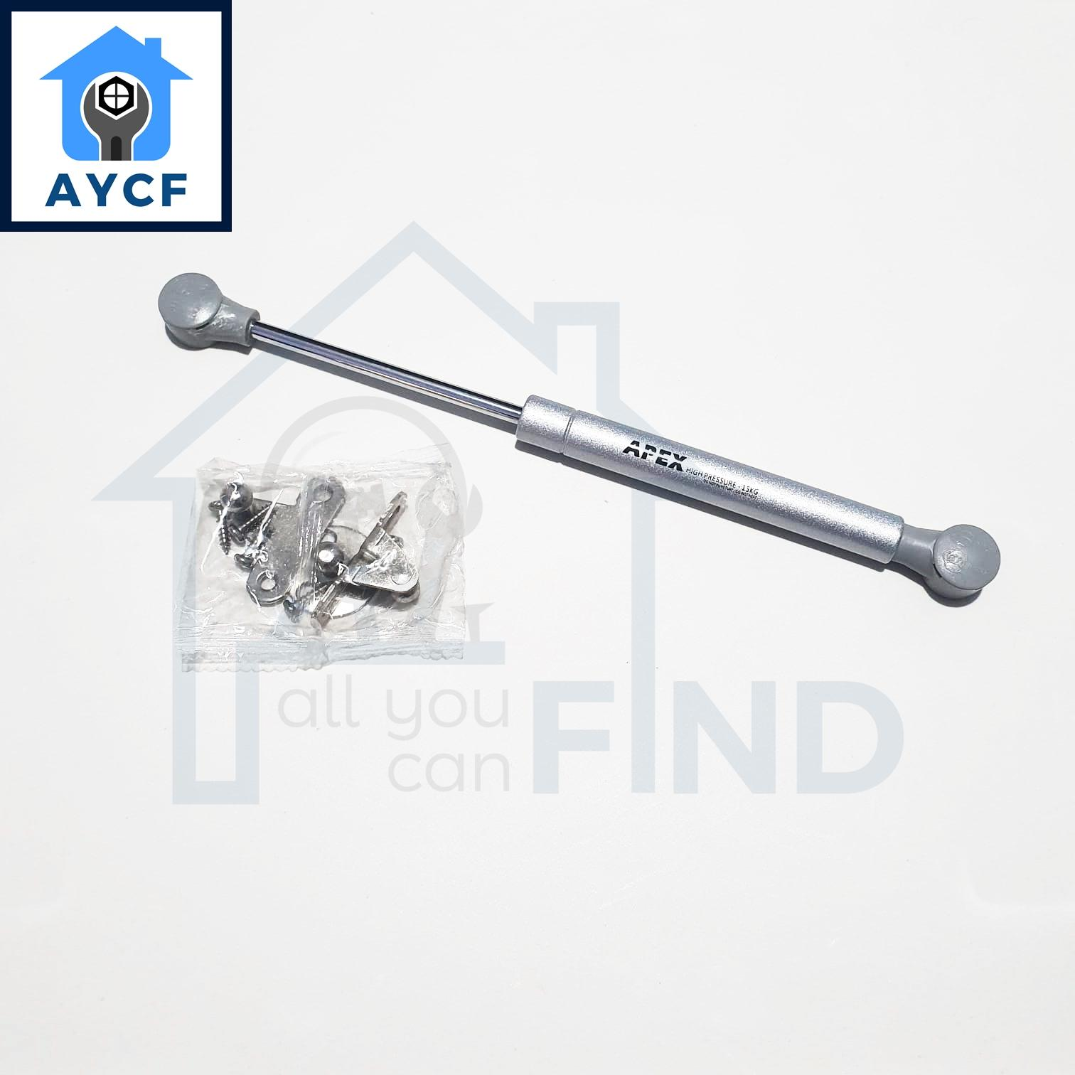 AYCF APEX Hydraulic Lift Support Spring for Kitchen / Cabinet / Door Hinges Gas Strut - 15kg