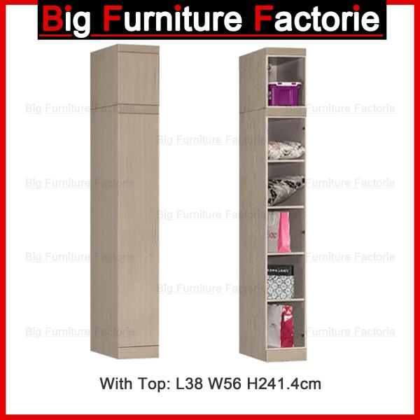BFF-A6D One Door Wardrobe With Top