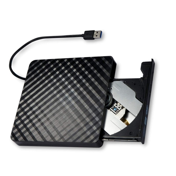 Bảng giá External DVD Drive USB 3.0, Portable CD DVD /-RW Optical Drive Burner Writer for Windows 10/8 / 7 Laptop Desktop Phong Vũ