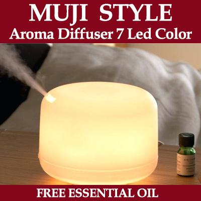 MUJI Style Essential Oil Aroma Diffuser Humidifier 500ml