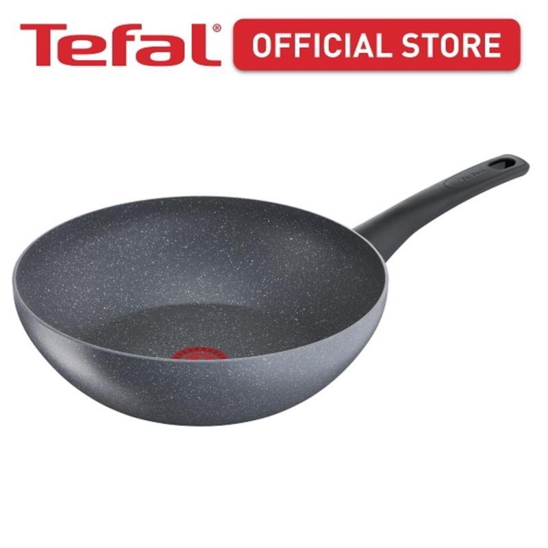 Tefal Chefs Delight Stone Wok Pan 28cm G12219 Singapore