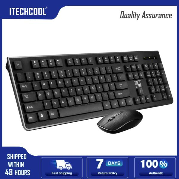 LX710 2.4GHz Wireless Keyboard Mouse Combo Set for Laptop Desktop Computer Singapore