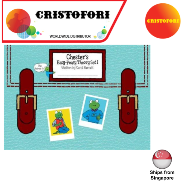 Chesters Easy-Peasy Theory Book Set 1 of 3 (written by Carol Barratt)