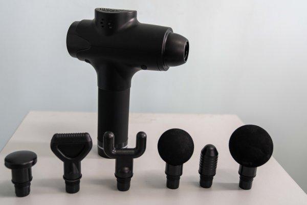 Buy PREMIUM Massage Gun Portable Electronic Muscle Body Leg  Shoulder Massager Phoenix Compatible Singapore
