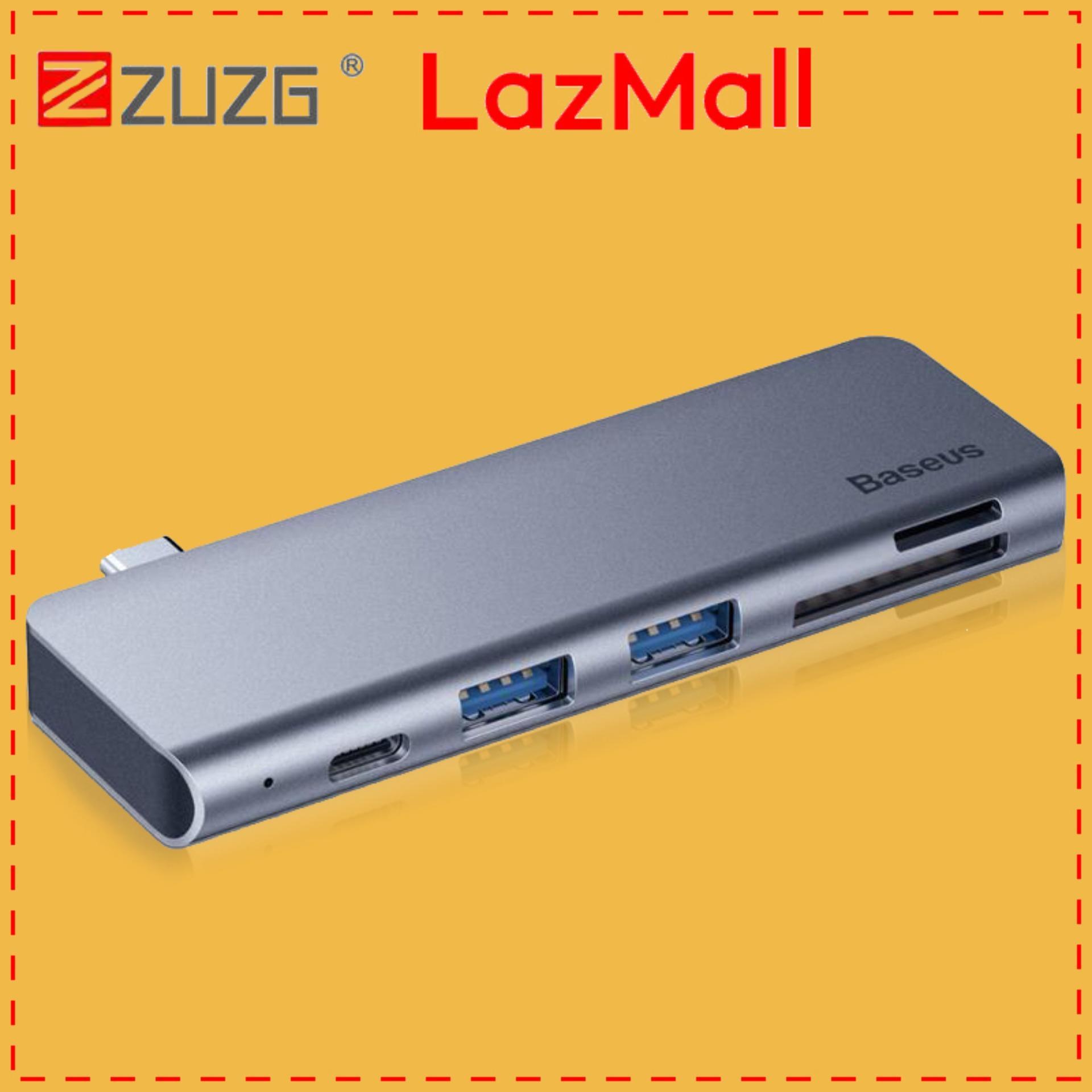 [ZUZG] USB C HUB Type-c to Multi Ports USB 3.0 USB3.0 Type C Power Adapter USB-C HUB Splitter Dock For Macbook Pro Air USBC HAB