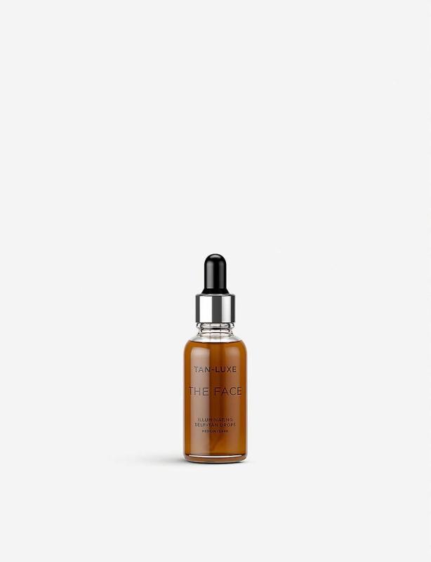 Buy Tan-Luxe - The Face Illuminating Self-Tan drops 30ml (Medium/Dark tone) Singapore