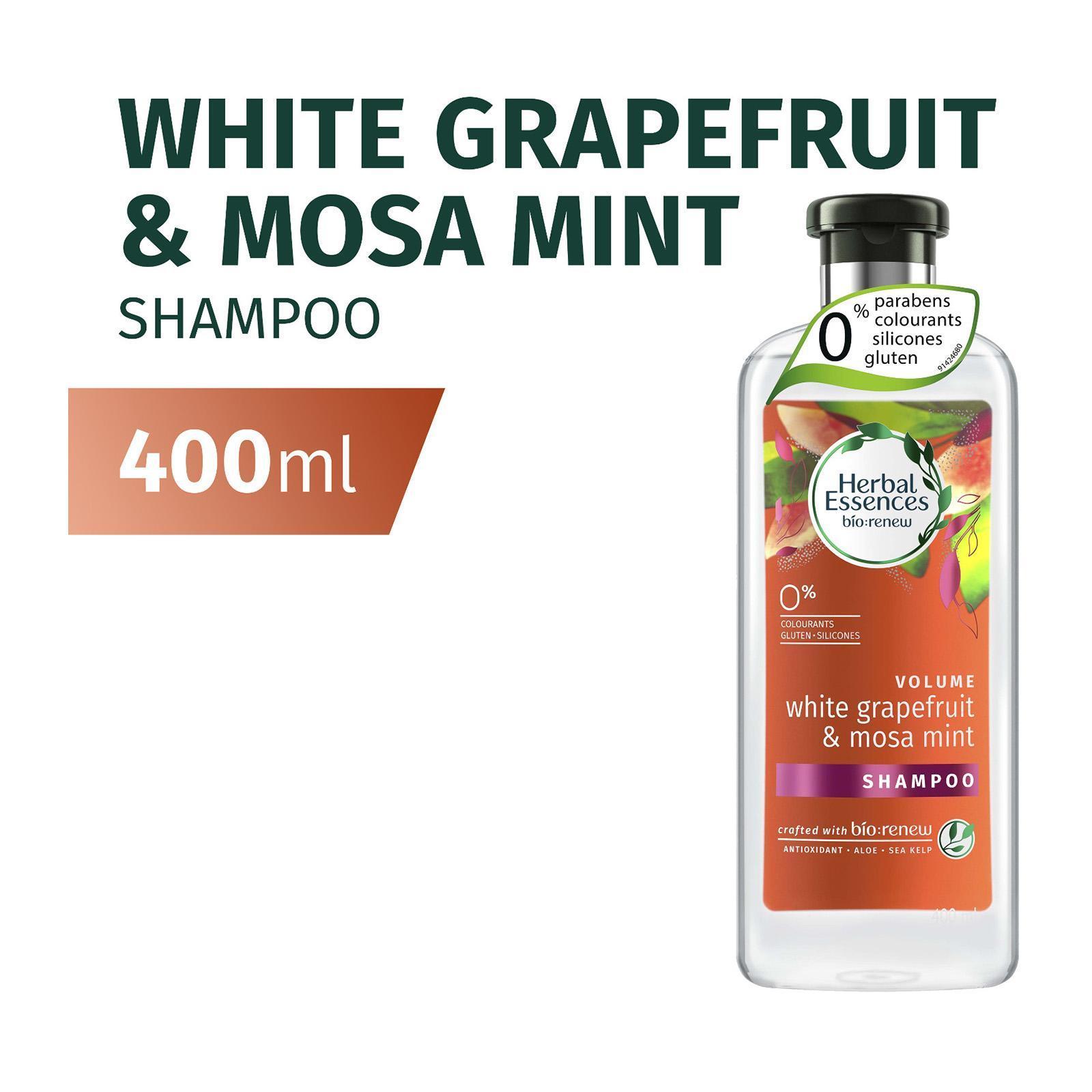 HERBAL ESSENCES herbal essences volume white grapefruit mosa mint shampoo 400ml
