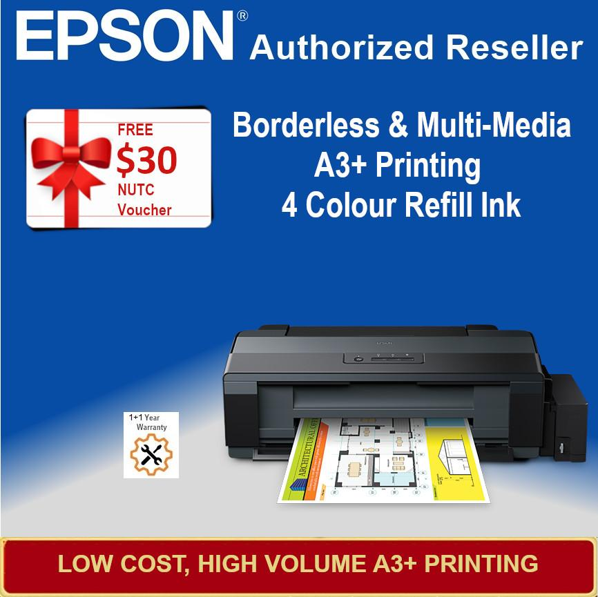 [Singapore Warranty] Epson L1300 Photo A3 Ink Tank Printer Epson 1300 L  1300 Singapore