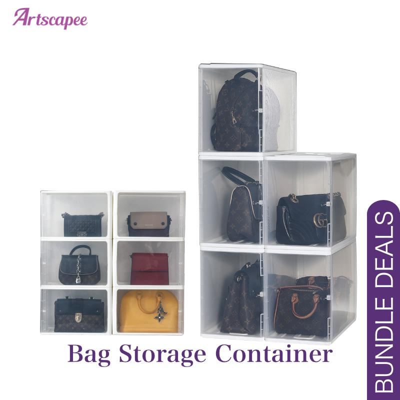 Stackable Bag Storage Organiser