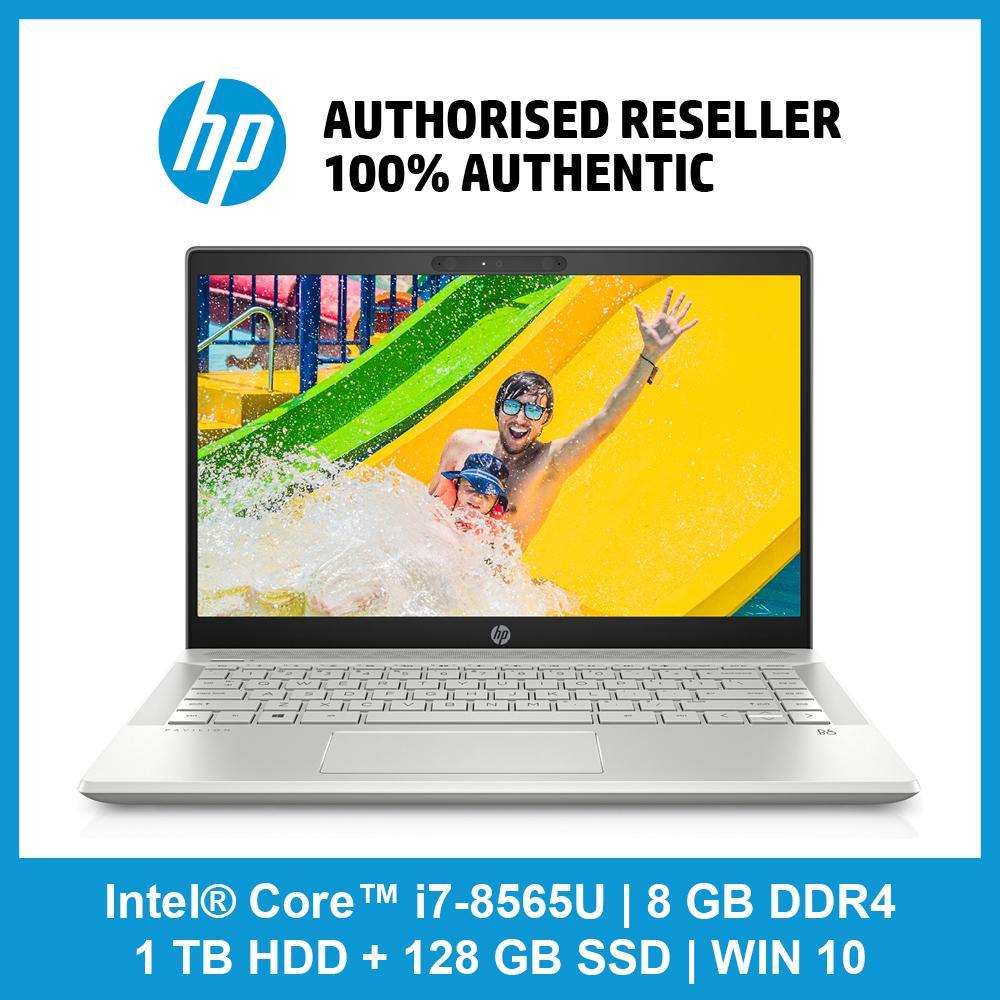 HP Pavilion 14-ce1019tx / i7-8565U / 8 GB RAM / 1 TB 5400 rpm SATA / 128 GB SSD /  WIN 10