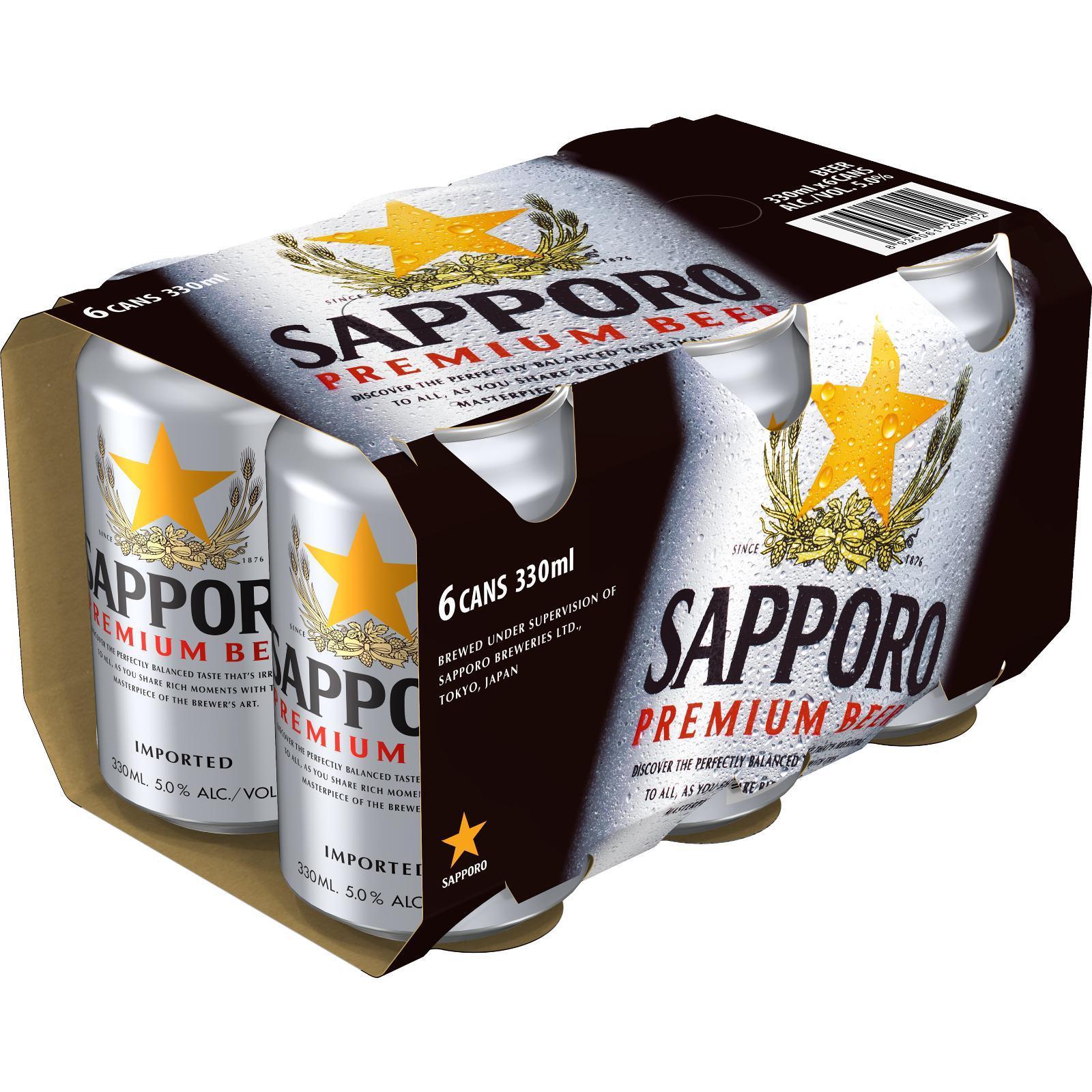 Sapporo Premium Draft Beer