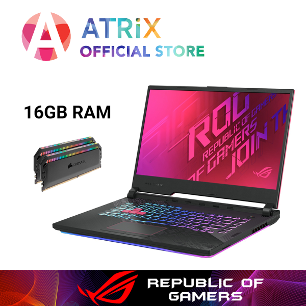 【$100OFF】Same Day Delivery | New ROG G512 | ASUS ROG STRIX G512LU-GTX1660Ti | 15.6 FHD 144Hz | i7-10750H | 1TB PCIe SSD | NVIDIA GeForce GTX1660Ti 6GB DDR6 | WiFi6 AX | 2Yrs Warranty