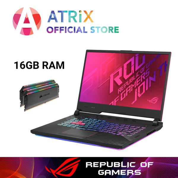【$100OFF】Same Day Delivery | New ROG G512 | ASUS ROG STRIX G512LU-GTX1660Ti | 15.6 FHD 144Hz | i7-10750H | 1TB PCIe SSD | NVIDIA GeForce GTX1660Ti 6GB DDR6 | WiFi6 AX | 2Yrs Warranty