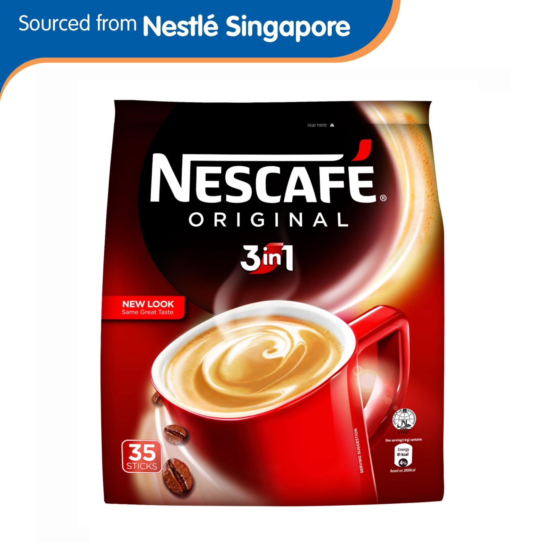 Nescafe Original 3in1 35s Instant Coffee By Nestle Official Store.