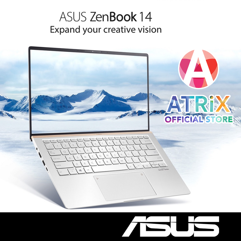 ASUS Zenbook 14 UM433DA-A5046 | only 1.15kg | 14 FHD | AMD Ryzen 7 | 8GB RAM | 1TB PCIe SSD | Win10 Home | 2Yr ASUS International Warranty | Ready Stock,Ship Out Today
