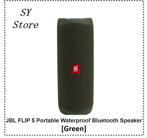 JBL Flip 5 IPX7 Waterproof Portable Waterproof Speaker - SY Store Singapore