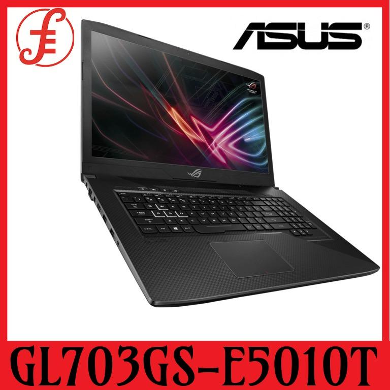 ASUS GL703GS-E5010T 17.3″ FHD 144Hz GeForce® GTX1070 8GB GDDR5 Intel i7-8750H 16GB DDR4 1TB HDD + 256GB SSD Win10 Home Scar Edition GL703GS-E5010T 8th-Gen (GTX1070 8GB GDDR5) (GL703GS-E5010T)