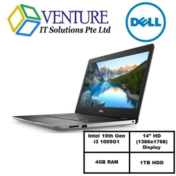 Laptop Dell Inspiron 3493 (READY STOCK)-i3 1005G1/14.0-inch HD (1366 x 768)/8GB RAM/1TB 5400 rpm 2.5 SATA Hard Drive/Win10/