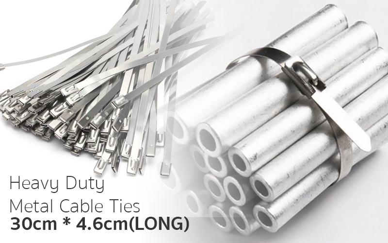 Heavy Duty Stainless Steel Cable Tie [ Everything-Under ]