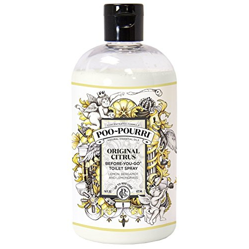 Poo-Pourri Before-You-Go Toilet Spray Refill Bottle, Original