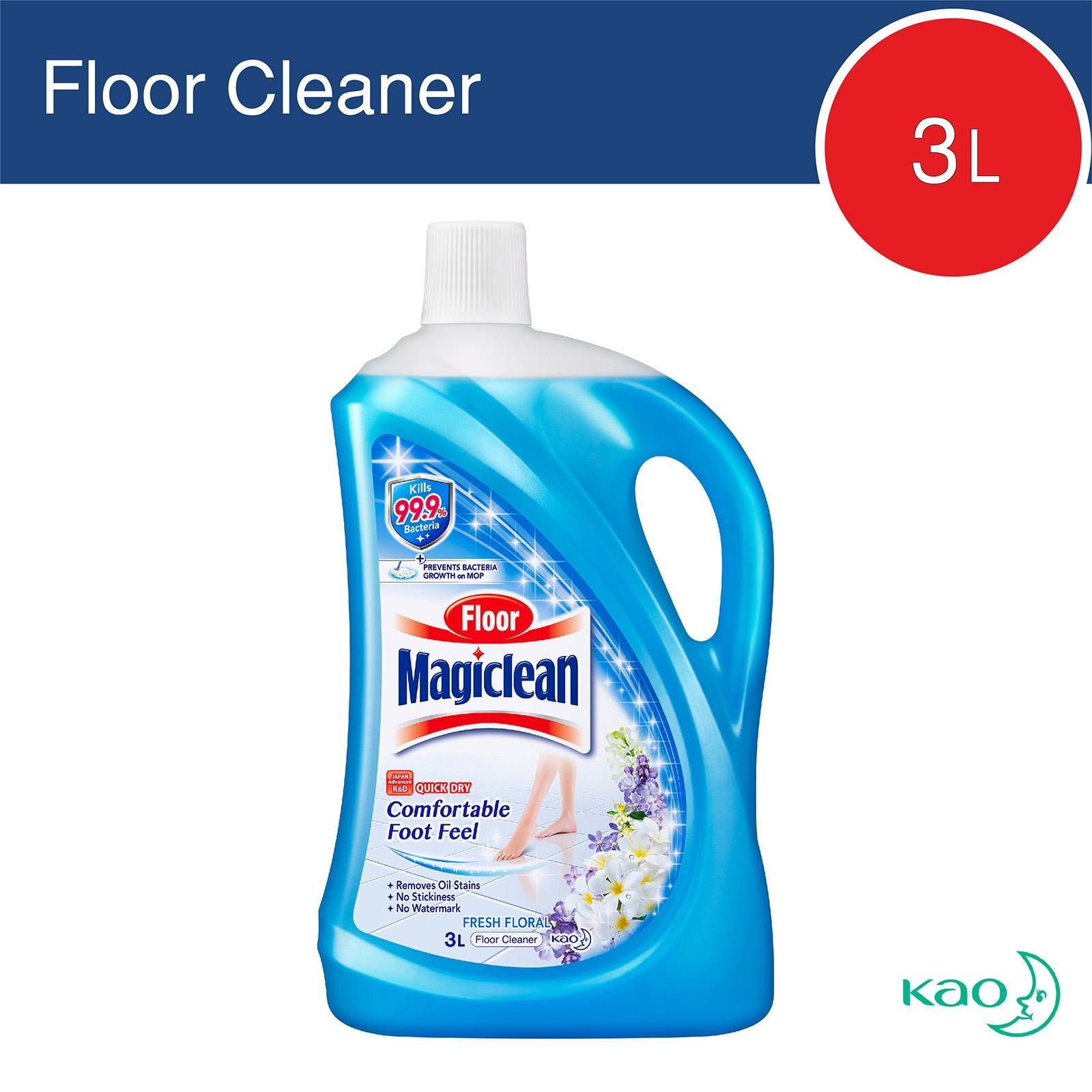 Magiclean Fresh Floral Floor Cleaner By Redmart.