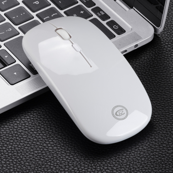 CR Group CR-M19 Rechargeable Wireless Ergonomic Mouse 1200DPI with Multi-Function Wheel Button