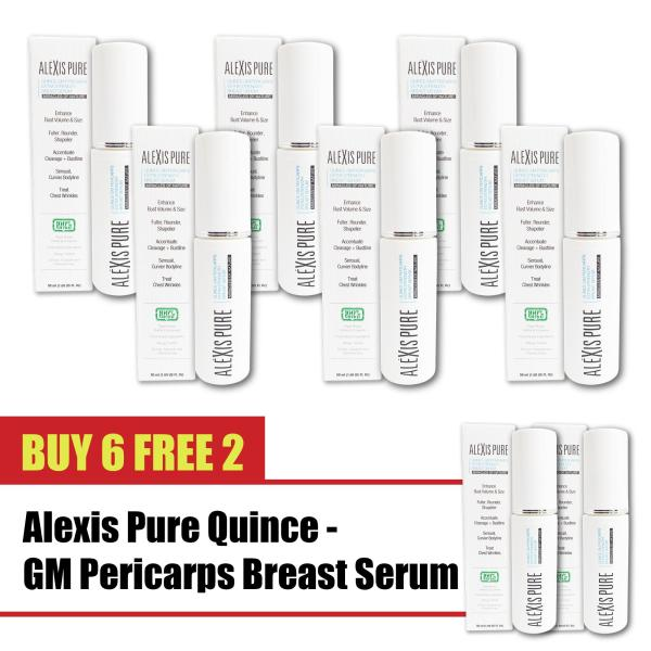 Buy Buy 6 Free 2 Alexis Pure Quince-GM Pericarps Fast Enlarge Breast Serum, Breast Enlargement Bust Up Cream, Chest Enlargement Increase Cleavage & Curves -50ml Singapore