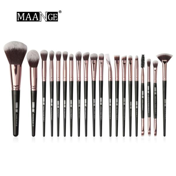 Buy MAANGE Professional Make Up Brush 20 Pcs Eye Blending Powder Foundation Blush Make Up Brush Set Singapore
