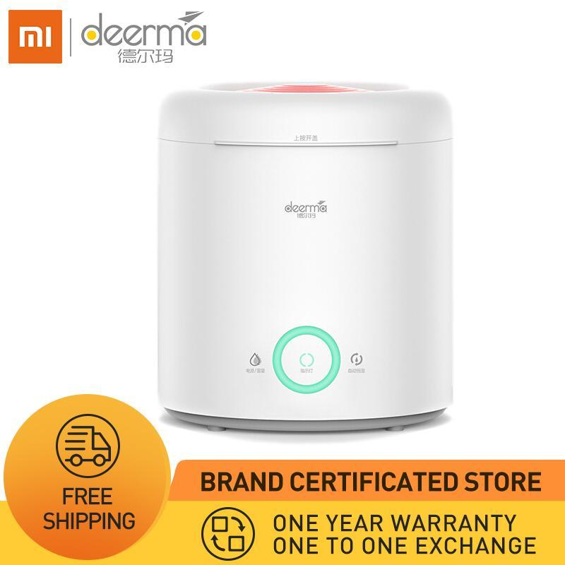 XIAOMI DEERMA 2019 Humidifier - 2 in 1 Top Fill Ultrasonic Cool Mist Humidifier & Essential Oil Diffuser with 360° Rotatable Mist Outlet, 2.5L Water Tank, Auto Shut Off, Ajustable Mist Volume, Whisper Quiet for Home Office and More Singapore