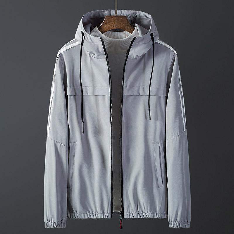 กลางแจ้งเสื้อผ้ากันแดดผู้ชายฤดูใบไม้ผลิสำหรับฤดูร้อนแบบบางระบายอากาศรุ่นผู้ชายเสื้อผ้าเสื้อแจ๊คเก็ตแขนเสื้อยาวกีฟาเสื้อคลุมลมชุดนักเรียน By Taobao Collection.