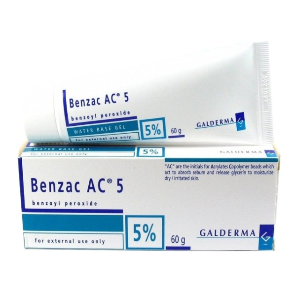 Buy [In Stock] Benzac AC 5 Gel (15g) / (60g) Singapore