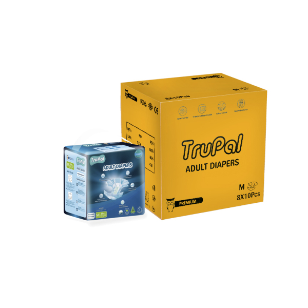 Buy Trupal Premium Adult Diapers - M/L - Carton - 10 x 8 Singapore