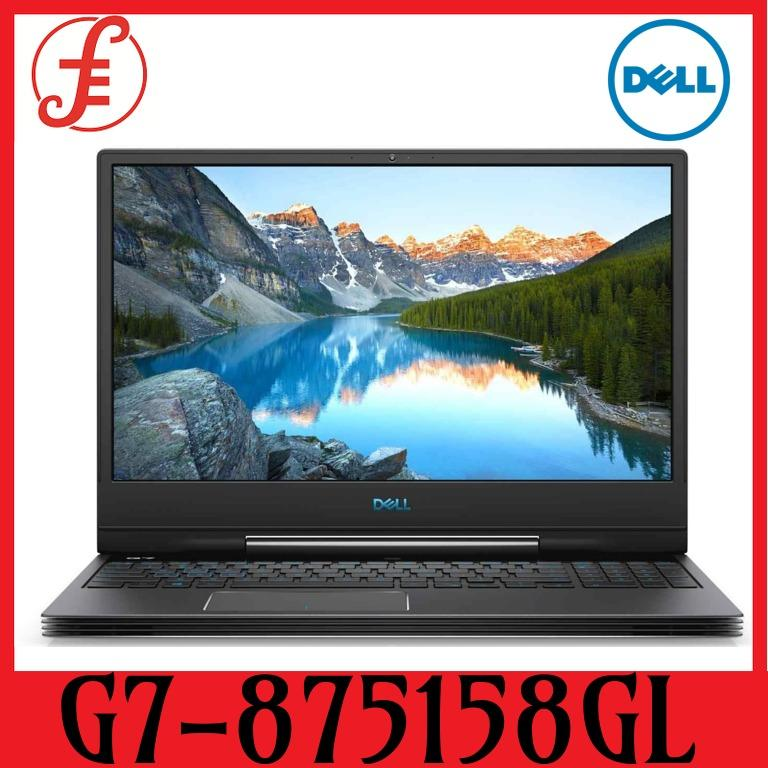 DELL G7-875158GL RTX2070 15.6 IN INTEL CORE I7-8750H 16GB 512GB SSD WIN 10 (G7-875158GL)