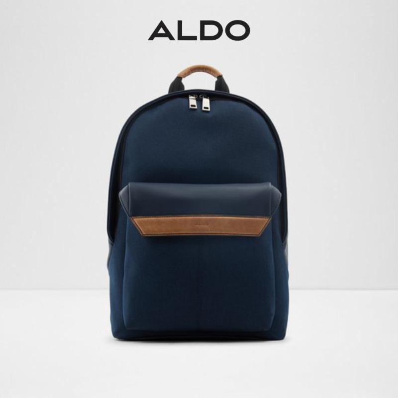 Aldo Lucidus Mens Casual Bag Backpacks Black / Blue / Brown