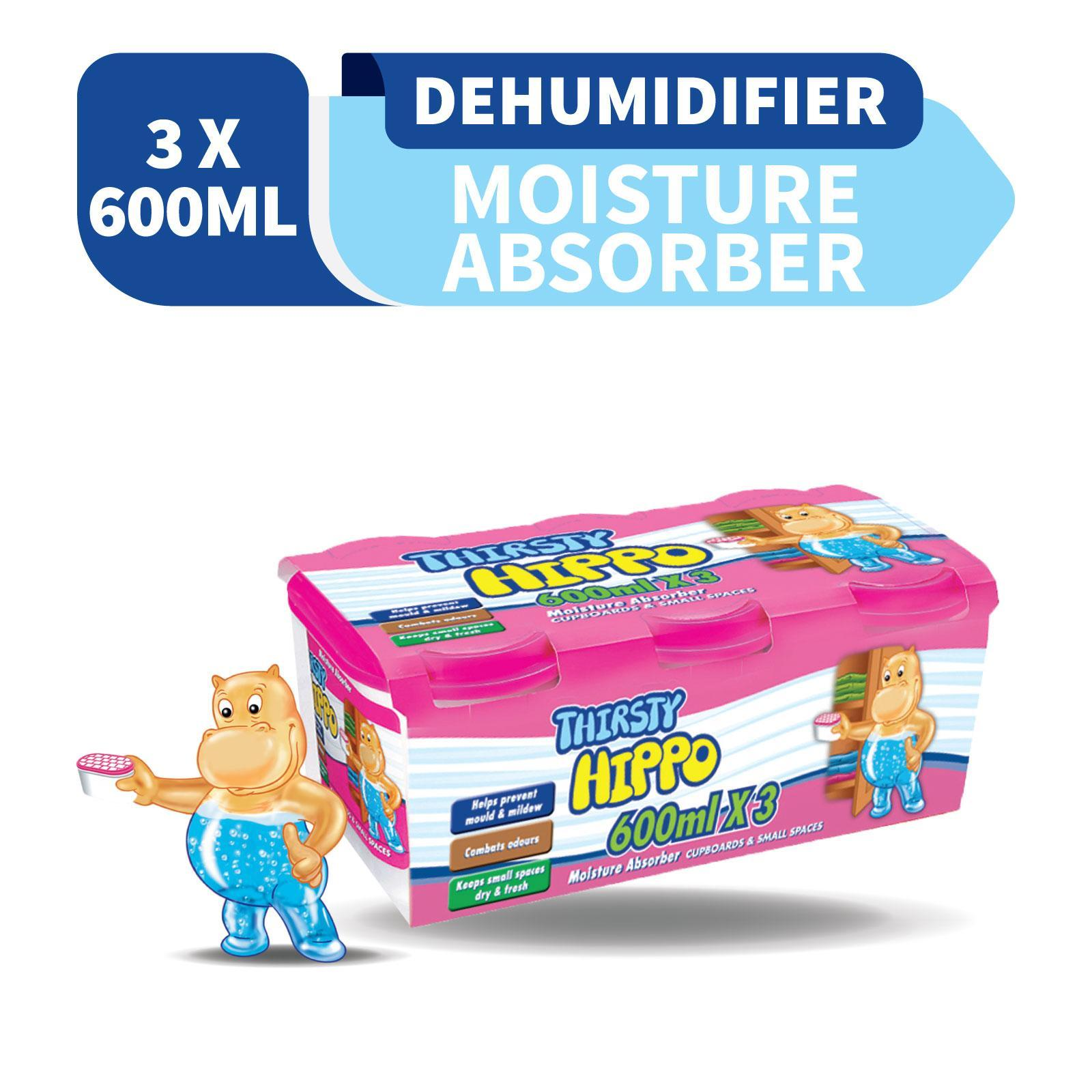 Thirsty Hippo Cupboards and Small Spaces Moisture Absorber