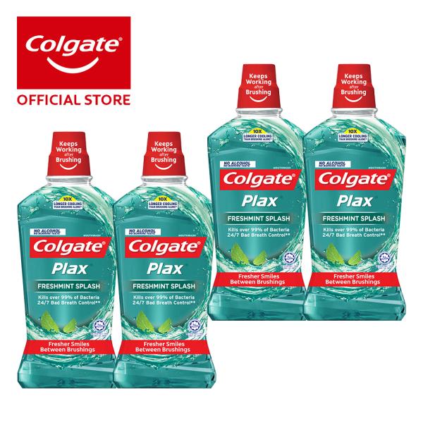 Buy Colgate Plax Freshmint Mouthwash 1L [Bundle of 4] Value Deal (1525387-4) Singapore
