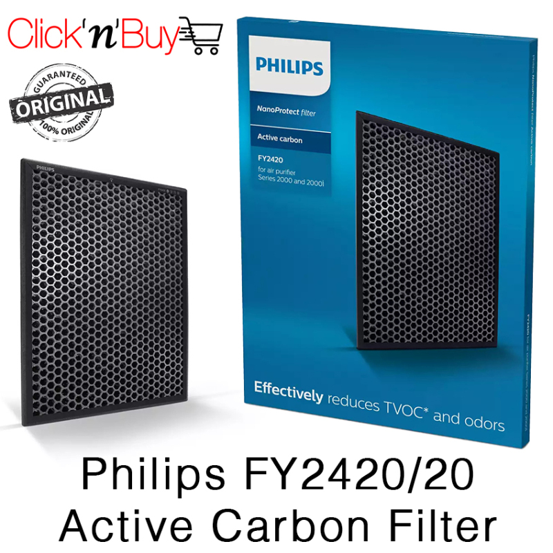Philips FY2420/20 Active Carbon Filter. Reduces Odors. Reduces TVOC. Honeycomb Structure. Local SG Stock. Singapore