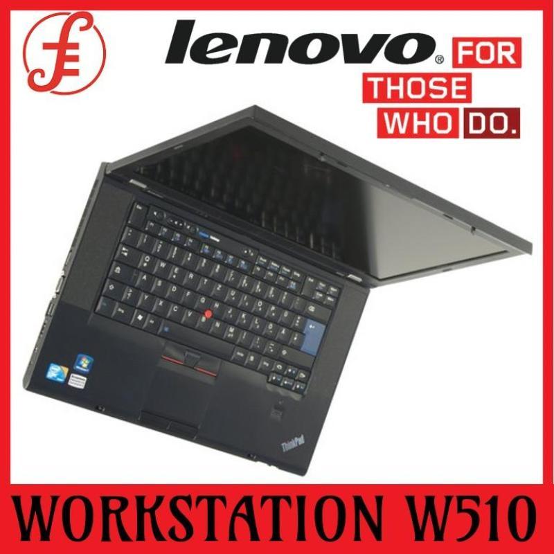 LENOVO WORKSTATION W510 i7 (1ST GEN) 8GB RAM 500GB HDD QUADRO GRAPHIC CARD 15.6 INCH WINDOWS (REFURBISHED)