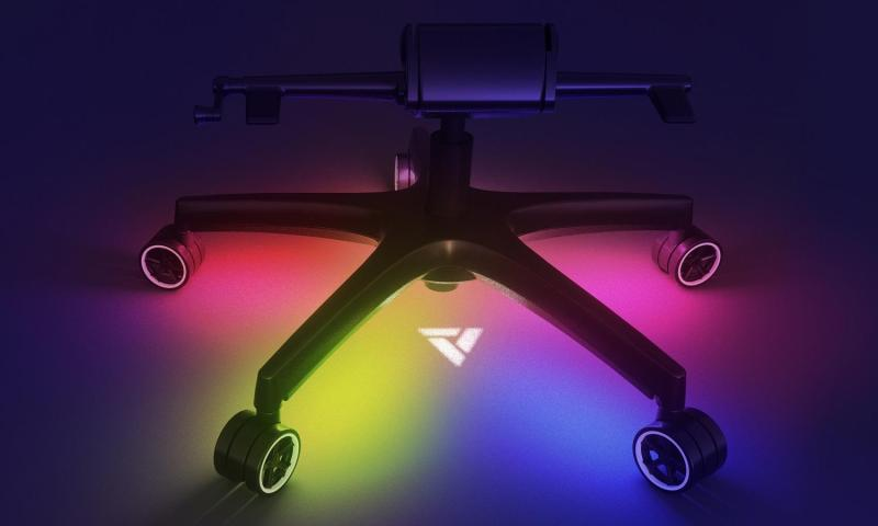 Vertagear Racing Series 5 Star base RGB/LED Upgrade Kit control by NZXT CAM