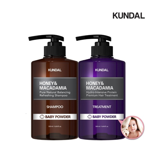 Buy [Bundle of 2] Kundal Premium Perfume Hair Care SET(2ea) Shampoo+Treatment Baby Powder Singapore