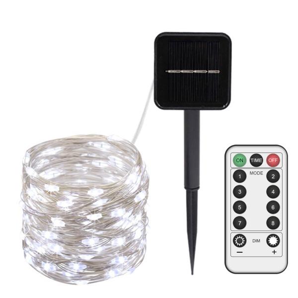 Đèn LED Thần Tiên Độc Đáo, Đèn Xung Quanh Lãng Mạn, Đèn LED Cổ Tích Trang Trí 8 Chế Độ 12M Điều Khiển Từ Xa USB Cho Bãi Cỏ
