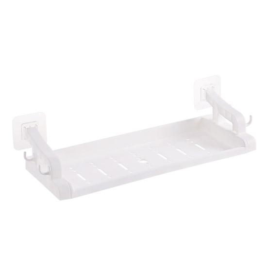 Bathroom-Free Punched Wall-Mounted Shelves Wall Storage Washed Shelf Bathroom Multi-Functional Plastic Storage Rack By Taobao Collection.