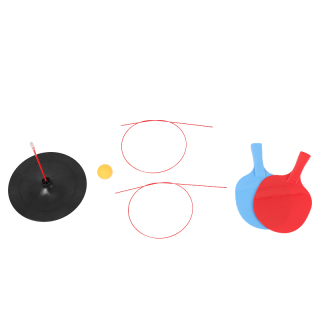 Portable Table Tennis Training Tool Practice Trainer Self-Study Machine Ping Pong Ball Set Leisure Home Exerc Table Tennis Trainer Equipment thumbnail