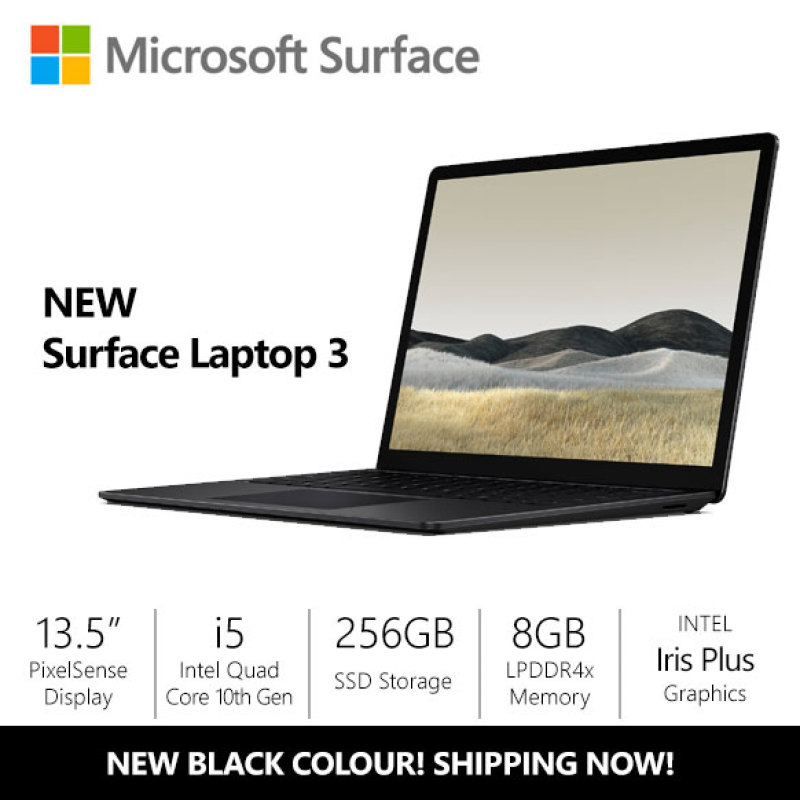[NEW] Microsoft Surface Laptop 3 13.5  i5/8gb/256gb Black