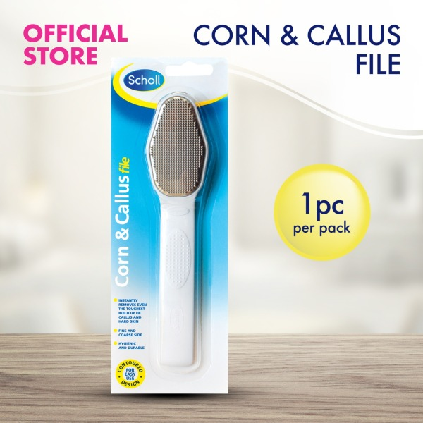 Buy Scholl Corn and Callus File for Hard Skin Removal Singapore