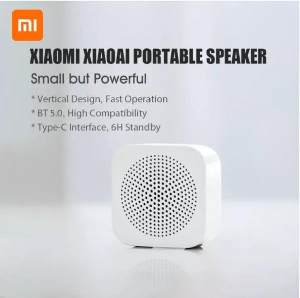 Xiaomi Xiaoai Portable BT5.0 Speaker 6H Battery Life Type-C Rechargeable (Singapore Seller) Singapore