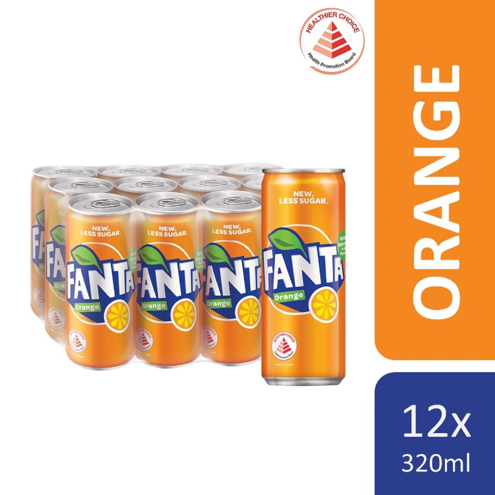 Fanta Orange (12 x 320ml) - Case