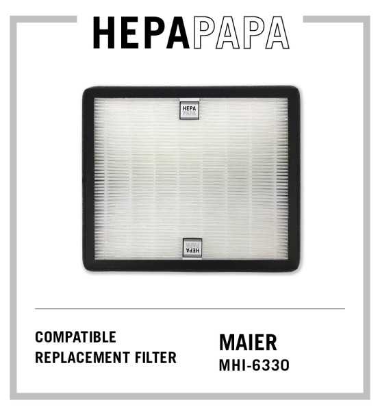 Maier MHI-6330 Compatible HEPA Filter [Free Alcohol Swab] [HEPAPAPA] Singapore