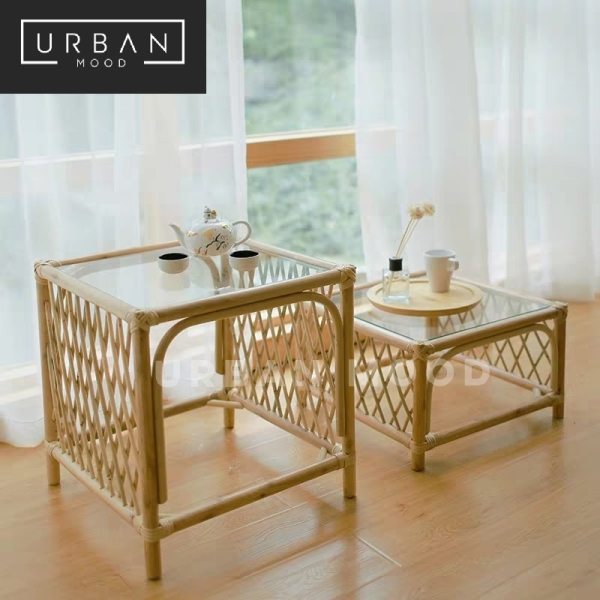 [Pre-Order] ROUGE Rattan Accent Coffee Table